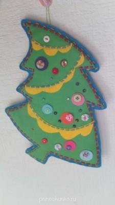 Смешарики игрушка на елку своими руками