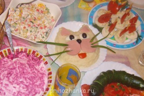 Детское блюдо на детский праздник детский праздник что приготовить на стол с фото