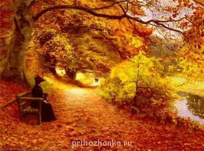 Аватарки. Наши интернет-лица - 70712301_1297769596_Hans_Anderson_Brendekilde____________A_Wooded_Path_In_Autumn.jpg