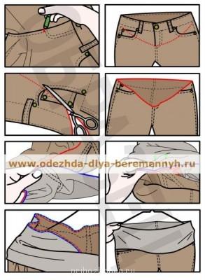 Шьем для беременюшек и деток - shit-bruki-dlya-beremennih.jpg