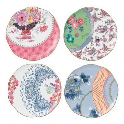 Самые необычные чайники. - wedgwood-butterfly-bloom-plate-set-091574178837_4.jpg