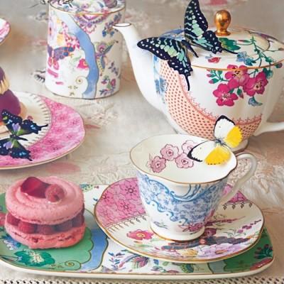 Самые необычные чайники. - wedgwood-lifestyle-butterfly-bloom-tea_5.jpg