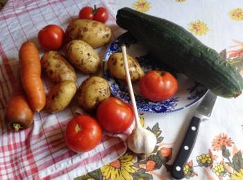 День второй. Овощи на столе-здоровья на сто лет. - IMG_1652.JPG