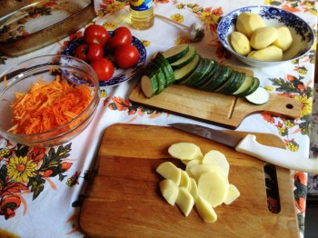 День второй. Овощи на столе-здоровья на сто лет. - IMG_1653.JPG
