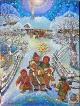 Рождество Твое, Христе Боже наш  - Gorobchuk-I.-Vertep.jpeg