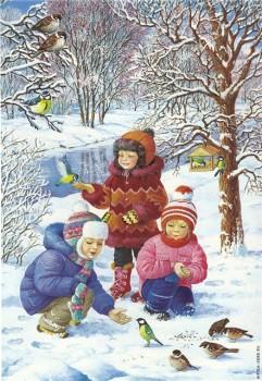 А снег идёт... - зима дети рисов.jpg