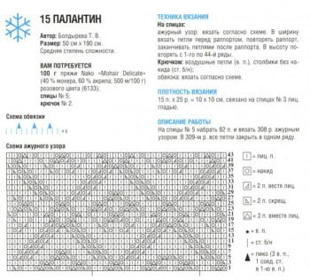 Шарфы, шали, палантины - палантин 1_1.jpg