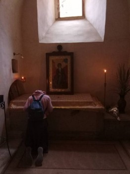Это в Лавре Св.Давида, у его мощей. - IMG_2017-09-27_154813.jpg