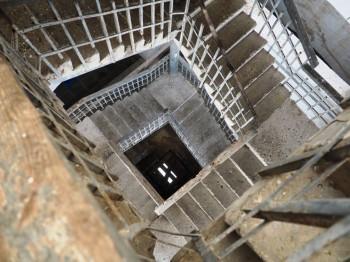 высоту колокольни не знаю, но по ощущениям, метров 40 = Примерно, как в Троице Сергиевой лавре - P1013946.JPG