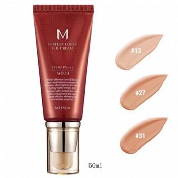 Уход за лицом и телом. - Best-Korea-Cosmetics-MISSHA-M-Perfect-Cover-BB-Cream-50ml-SPF42-PA-NO-13-NO.jpg