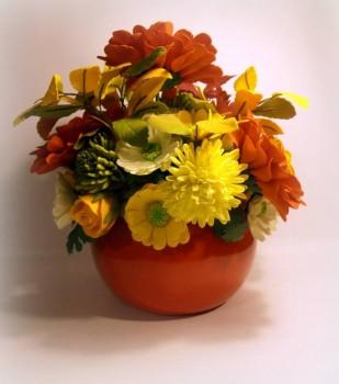 Рукотворные цветы в интерьере. - Cp5pZhriQAo.jpg