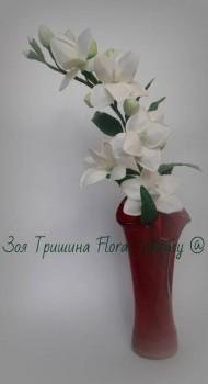 Рукотворные цветы в интерьере. - pGlQCriezzk.jpg
