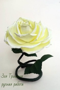 Рукотворные цветы в интерьере. - St4NPKa7fbk.jpg