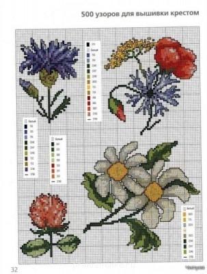 Цветы. Схемы вышивки - 2655825_500_srrsrr_022.jpg