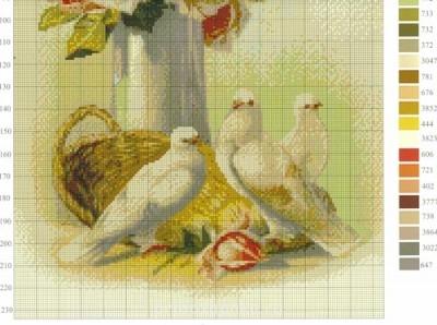 Цветы. Схемы вышивки - 0_20fa2_a37af543_L.jpg