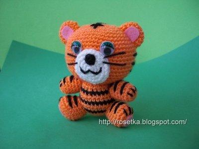 Амигуруми и прочие вязаные игрушки - тигр_амигуруми.jpg