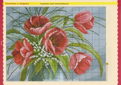 Цветы. Схемы вышивки - 08.jpg