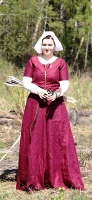 Вот реконструкция одежды Англии конца 15 века. - j1YpNNeoEo8.jpg