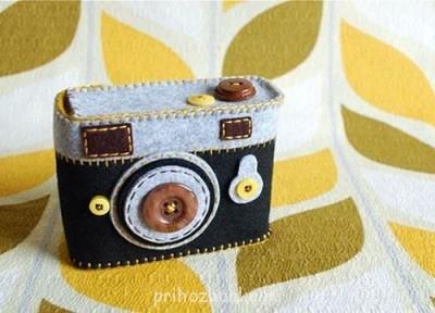 Любимые лоскутики :  - felt-camera-09.jpg